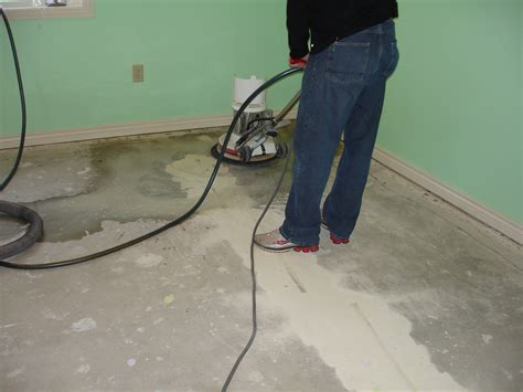 chris basement floor prep   Groov E NewsGroov E News