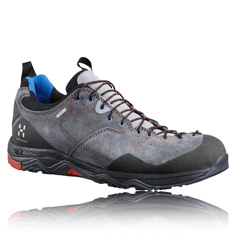 walking sports shoes haglofs rocker leather mens grey tex waterproof