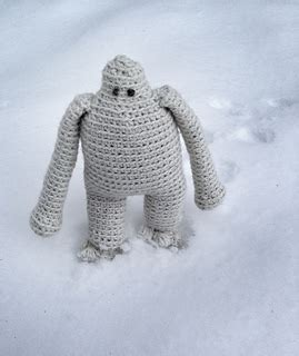 pattern for yeti ravelry the abominable snowman yeti pattern by elin