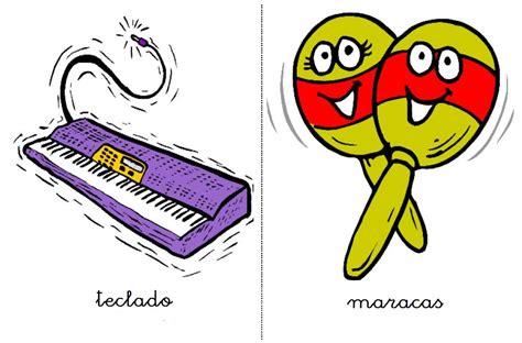 imagenes animadas instrumentos musicales fichas y sonidos de instrumentos musicales