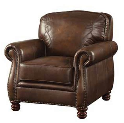 recliner chairs los angeles coaster montbrook 503983 brown leather chair steal a