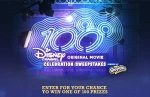 Disney Channel Sweepstakes Shopkins - 100th dcom celebration sweepstakes sweepstakes mania