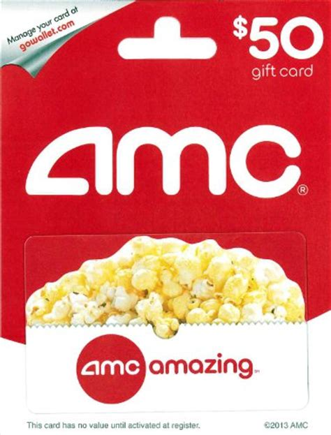 Gift Cards For Movies Theatres - amc theatre gift card 50 shop giftcards