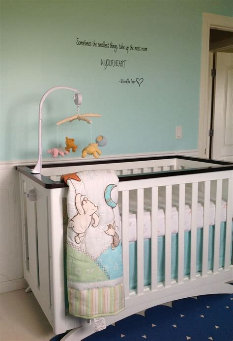 Baby Winnie The Pooh Crib Bedding Winnie The Pooh Crib Bedding And Quote Baby Things Pinterest