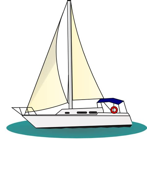 boat cartoon colors yacht clipart pencil and in color yacht clipart