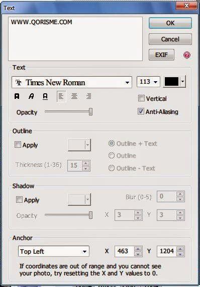 membuat watermark photoscape qori menulis blog tutorial cara membuat watermark