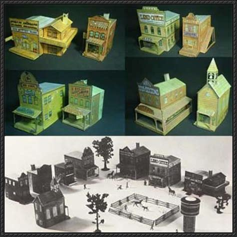 Papercraft Town - 37 best images about state projects on social