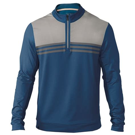 Sweater Adidas 3 Colors new adidas mens climacool colorblock sweatshirt 1 4 zip layering sweater