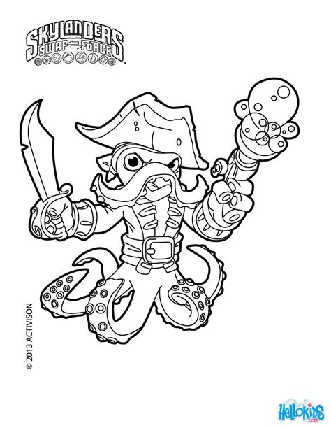 skylander birthday coloring page wash buckler coloring page skylander party pinterest