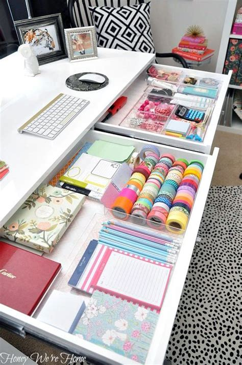 How To Organize Your Desk At Work 1000 Ideas About Desk Organization On Pinterest Work Desk Organization Work Office