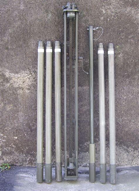 traliccio per antenne sistema sollevamento pali traliccio meccanico per