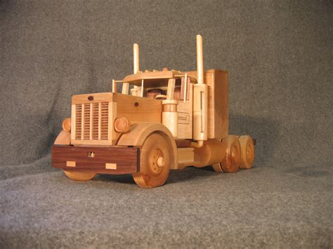 Handmade Wooden Toys Plans - wooden trucks
