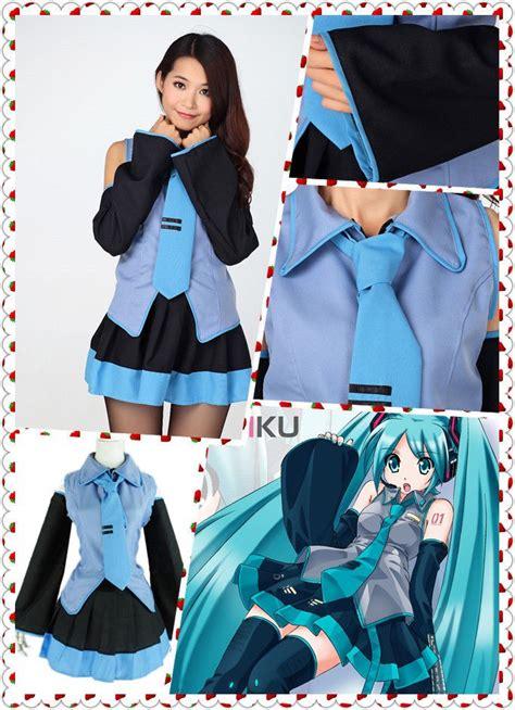 Anime Costumes by Hatsune Miku Vocaloid Anime Dress W Tie