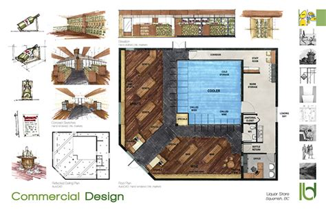 liquor store floor plans print portfolio on behance