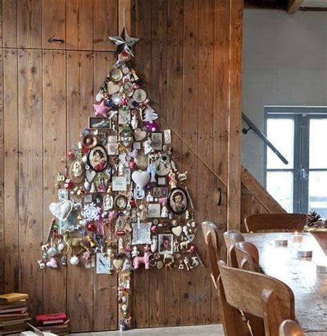 creative ideas for space saving christmas trees for your home