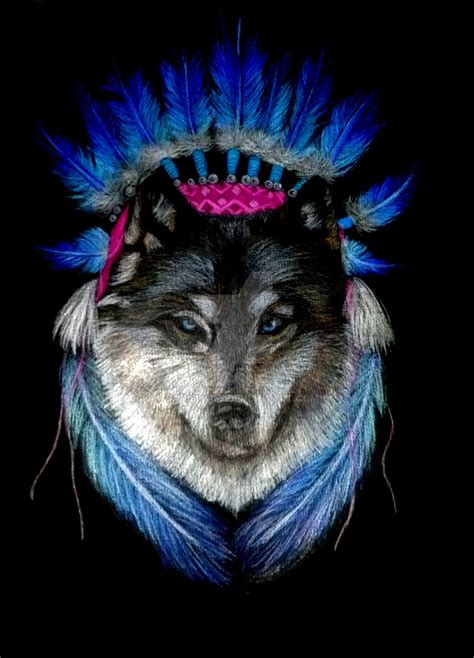 wolf and indian and wolf wallpaper image 135