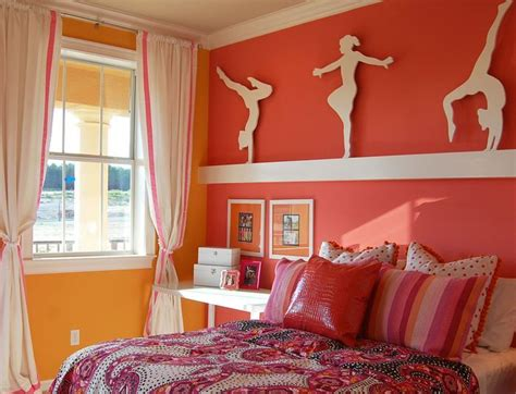 gymnastics themed bedroom gymnastics girls room children s bedroom photos by masterpiece interiors inc