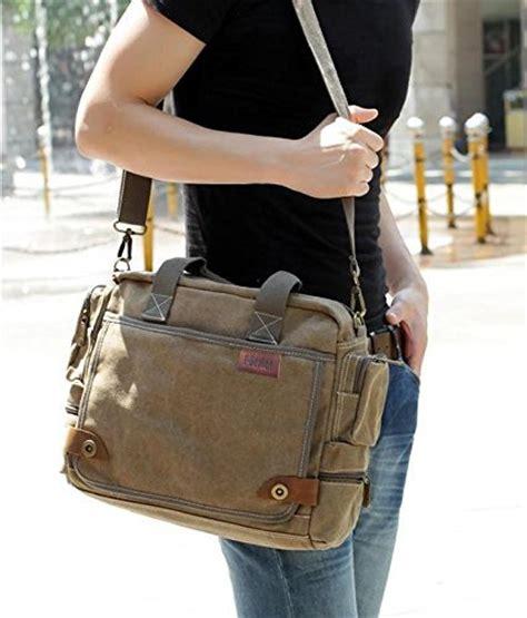 borsa ufficio donna borsa uomo tela borsa a tracolla unisex delle donne uomi a