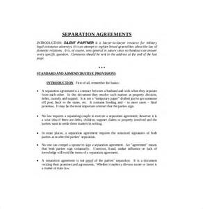 common separation agreement template bc 28 common separation agreement template bc