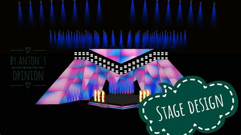 eurovision 2018 2019 my stage design youtube