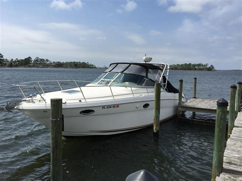 used saltwater boats for sale in florida 2003 used sea ray 290 amberjack saltwater fishing boat for