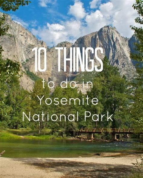 Things To Do In A Cabin by Family Vacation In Yosemite National Park 10 Things To Do