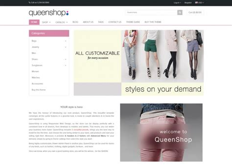 shopify themes queen best premium responsive shopify themes free demos