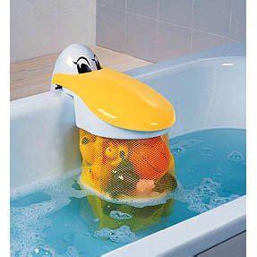 amazon bathtub peli play pouch bath tidy kids kit amazon co uk toys