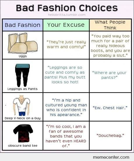 Bad Fashion Meme - bad fashion meme 28 images bad fashion memes best