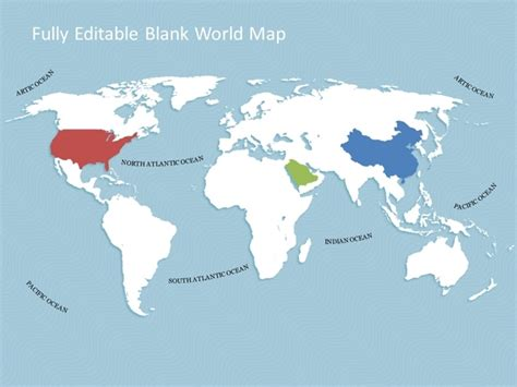 world map template for powerpoint premiumslides com