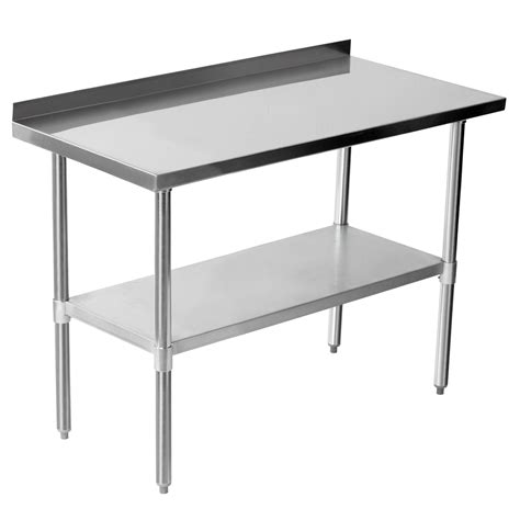 stainless steel commercial work table commercial 48 quot x 24 quot stainless steel work bench catering