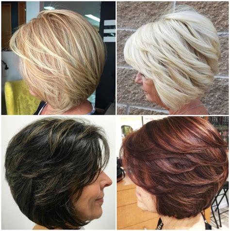bob haircuts  women    hair colored