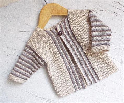 knitting pattern errors baby sideways knit cardigan with stripe pattern knitting