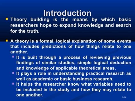 Basic Knowledge Of Mba by Mba2216 Business Research Week 3 Research Methodology 0613