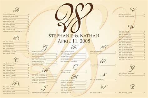 wedding seating card word template wedding seating chart template e commercewordpress