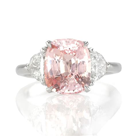 padparadscha sapphire engagement ring padparadscha the natural sapphire company blog