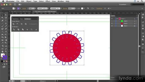tutorial illustrator pathfinder combining shapes with the pathfinder