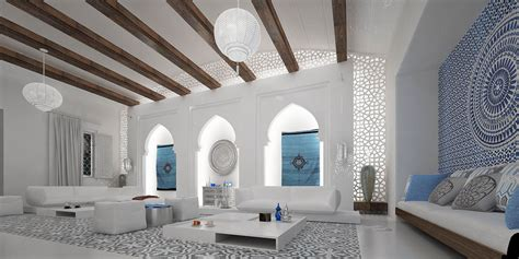 moroccan style interior spacious moroccan living room interior design ideas