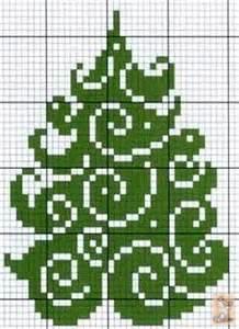 green christmas tree cross stitch cross stitch pinterest