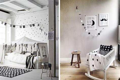 chambre enfant d 233 co noir et blanc e interiorconcept