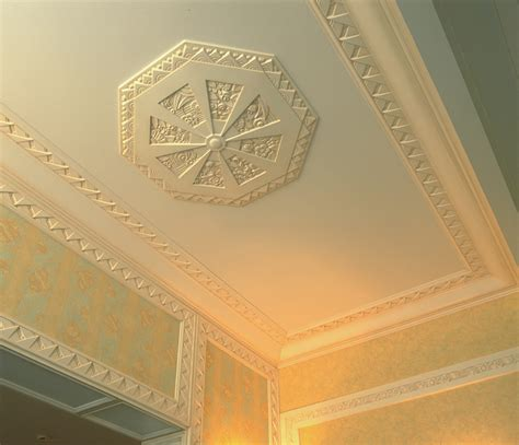 Cornicing Ceiling by Atelier Sedap Ornements Galerie Cornices Ceiling Roses