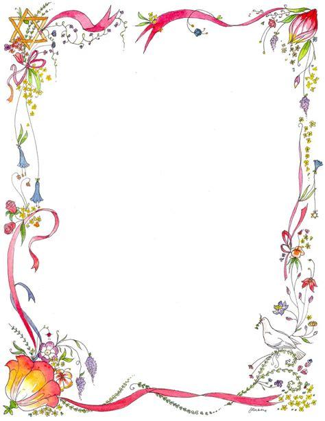 Lukisan Doodle A4 Colour Tidak Background Frame flowers border design arts border design and template