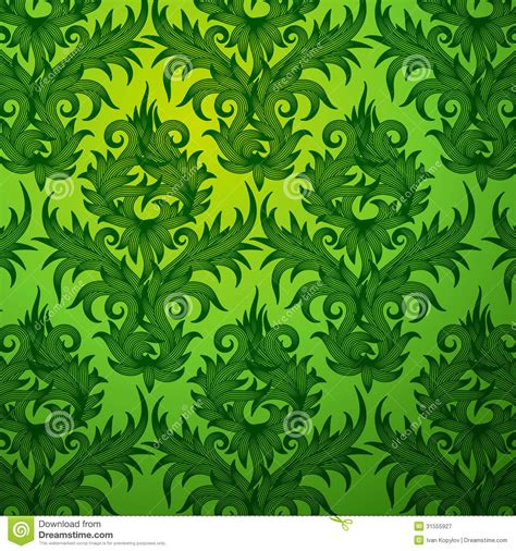 flower pattern green green flower pattern design