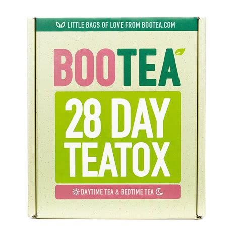 Bootea Detox Plan by 28 Day Teatox Bootea