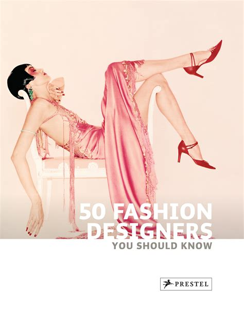 simone werle 50 fashion designers you should know prestel publishing paperback