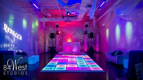 event design production miami led dance floor rental miami