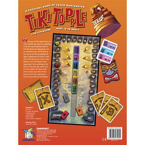 Tiki Topple tiki topple the toyworks