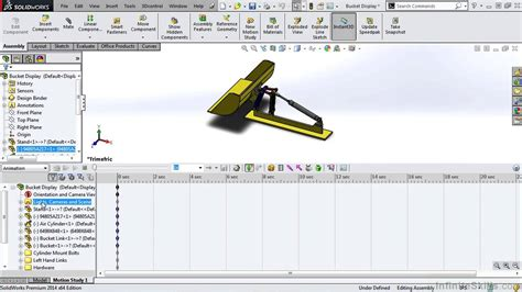 tutorial solidworks motion solidworks animation tutorial motion manager overview