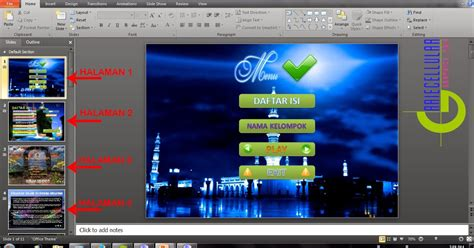 membuat tombol next powerpoint cara membuat tombol navigasi next atau back di power point