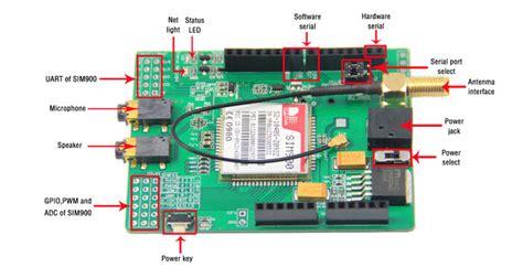 tutorial arduino gprs sim900 quad band gsm gprs shield
